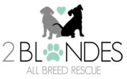 1016TWO BLONDES RESCUE LOGO