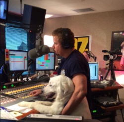 10-06 ross and dog in studio
